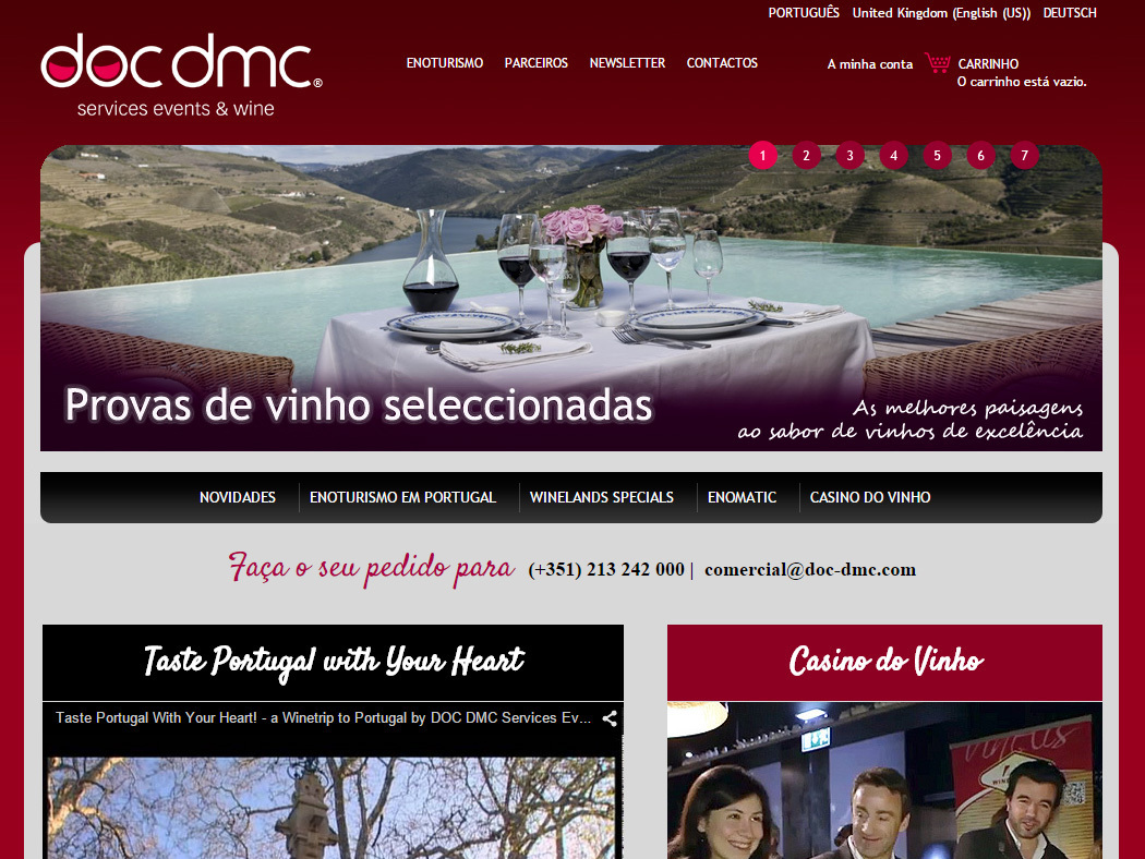 DOC-DMC - Wine Tours, Events and Congresses