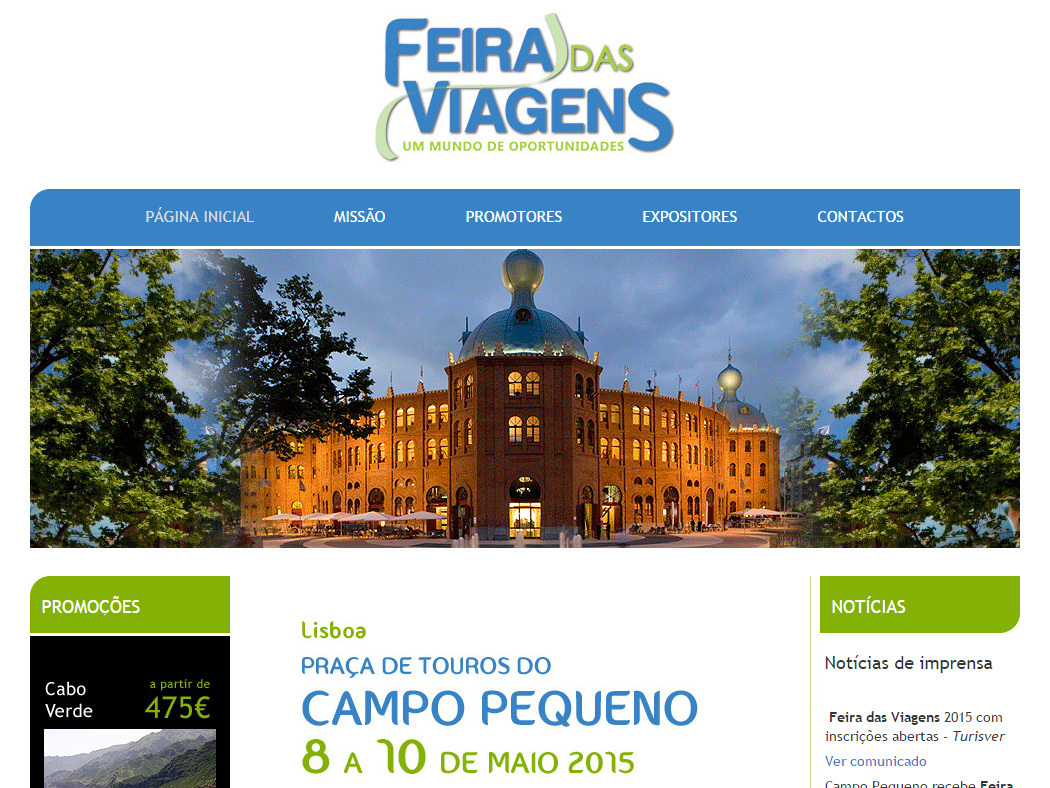 Feira das Viagens - Interesting and varied Offers for your Holidays and Travel