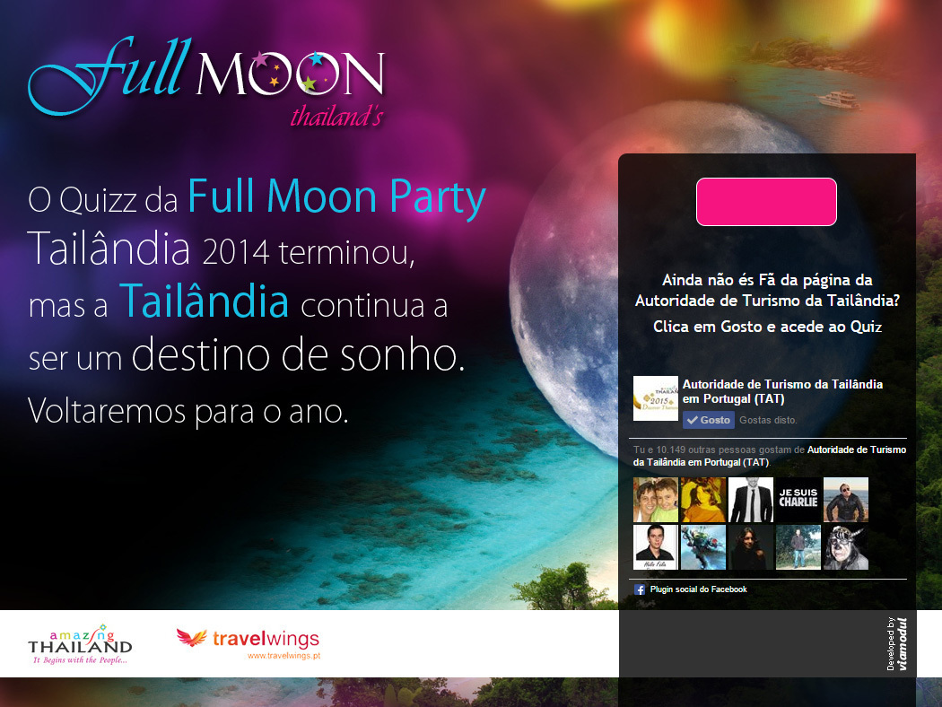 Full Moon Party - Online Quiz on Thailand