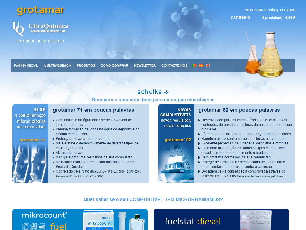 Grotamar - Shop online of Products against Microbiological Contamination