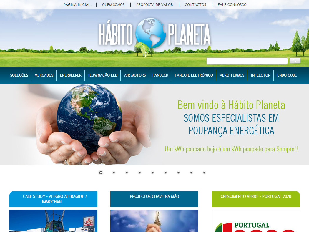 Hábito Planeta - Online Store for Energy Efficiency Services & Solutions