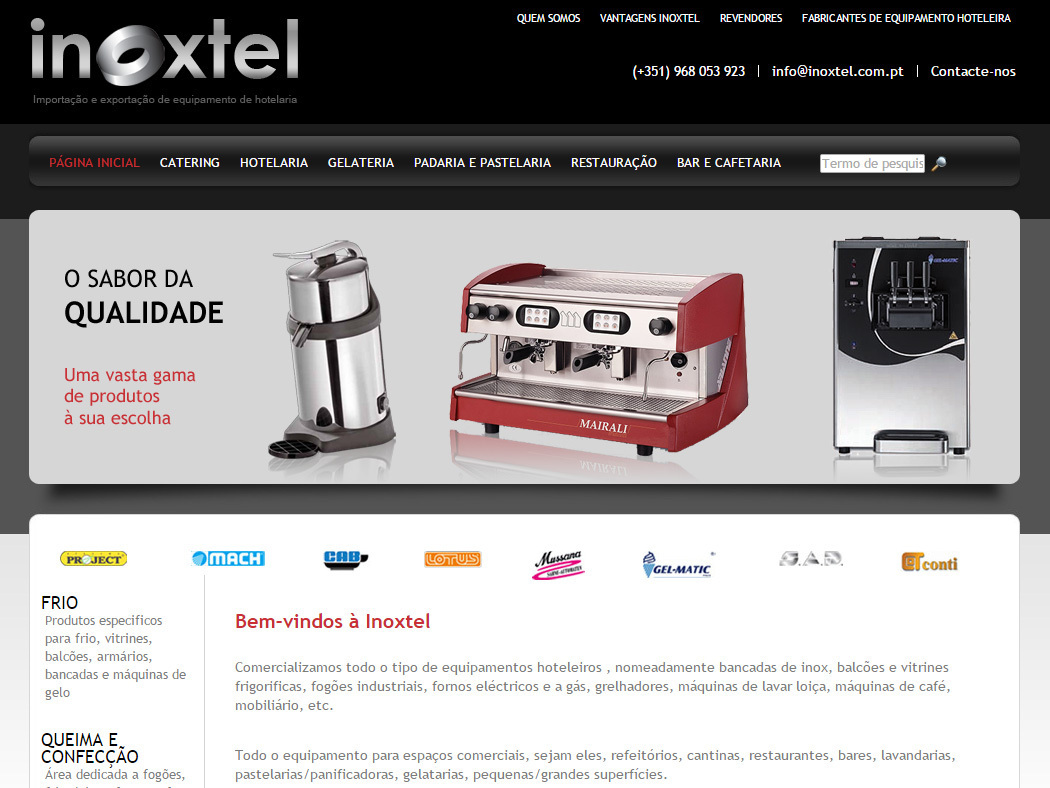 Inoxtel - Commercialization of Hotel industry Equipment