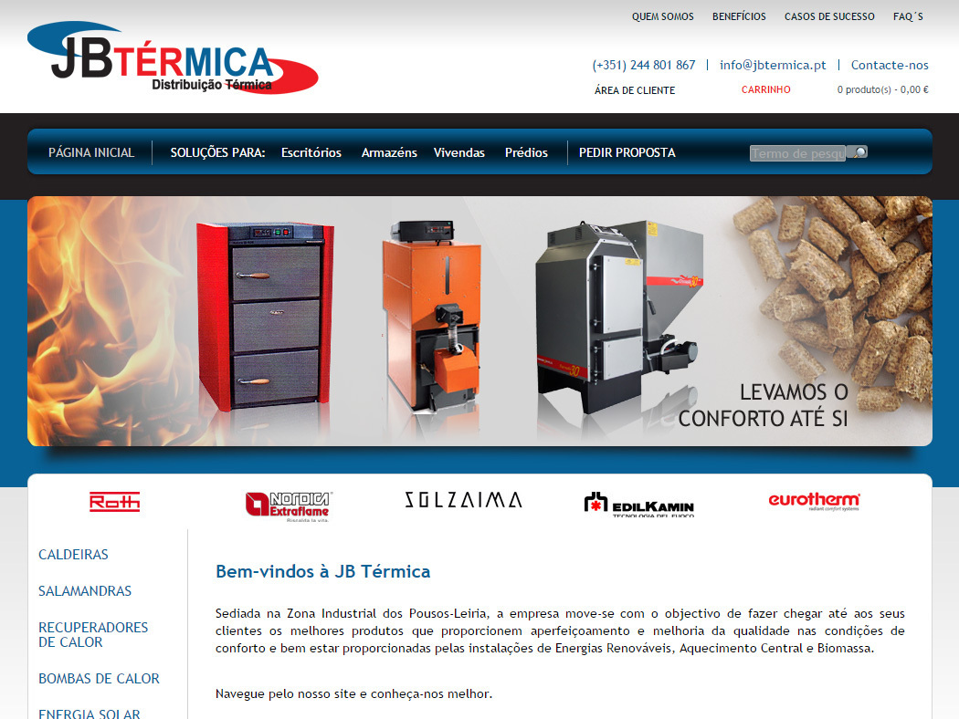 J.B.Térmica - Air Conditioning and Heating Systems