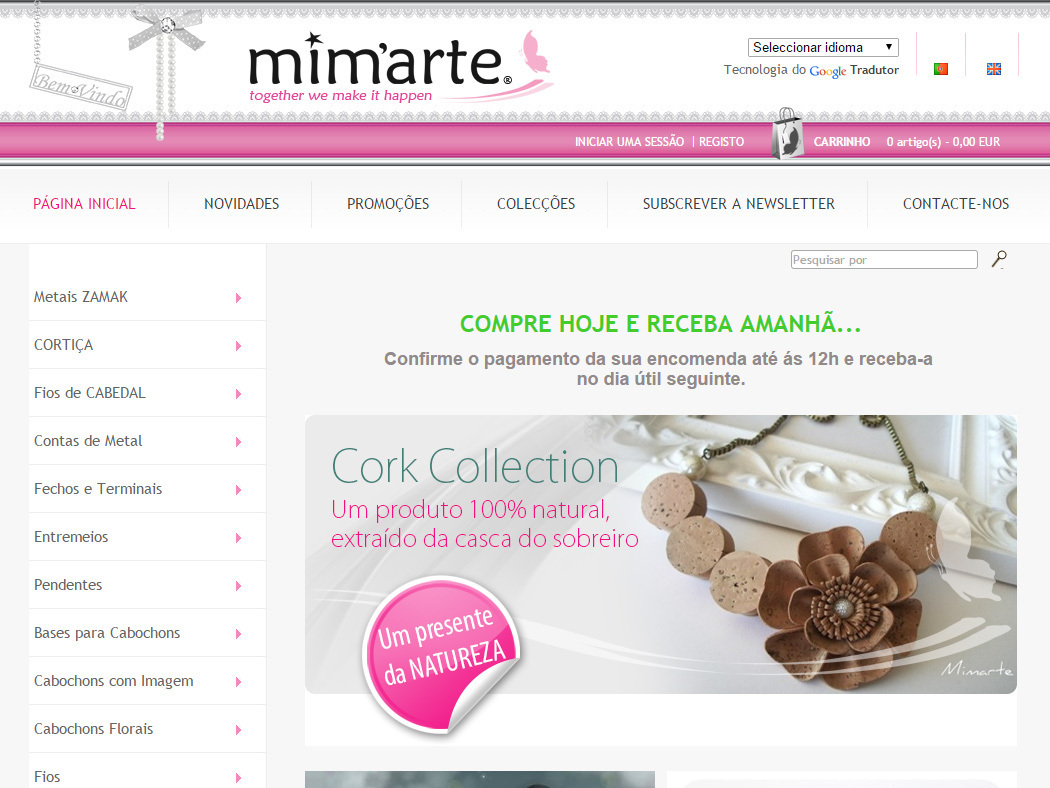 Mim Arte - Online Store for Jewelry Components