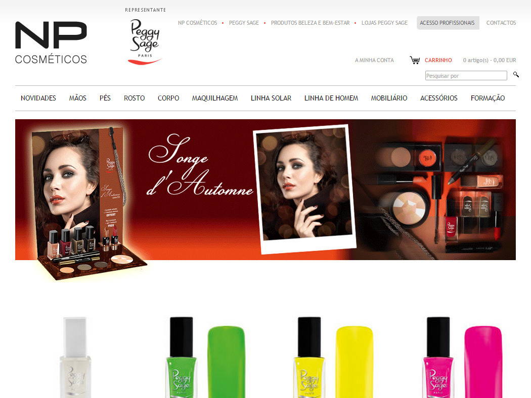 NP Cosmetics - Online Store of the Official Representative of Peggy Sage