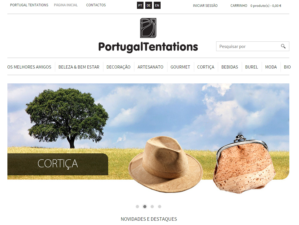 PortugalTentations - Online Shop of Typical Portuguese Gourmet Products