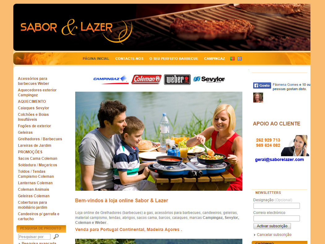 Sabor & Lazer - Online Shop for Decoration for Home, Garden and Terrace
