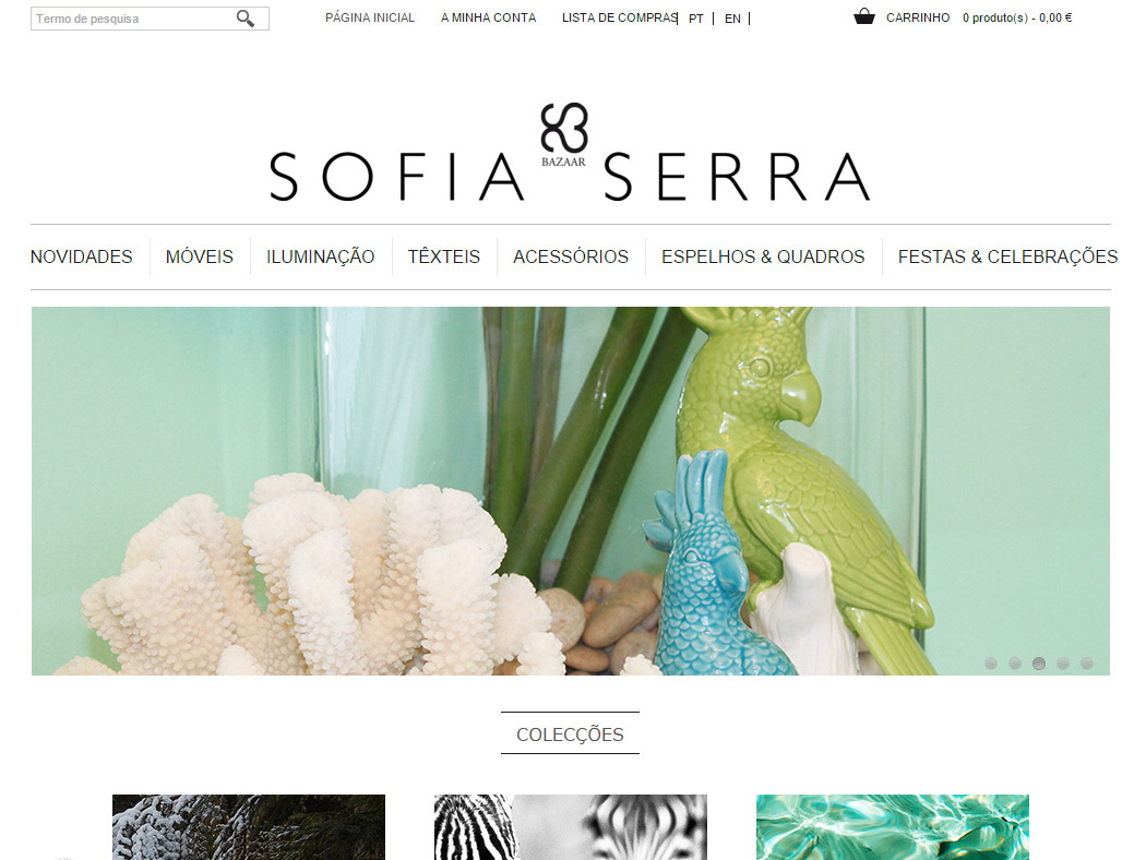 Sofia Serra - Online Store for Exclusive Decoration Products in Portugal
