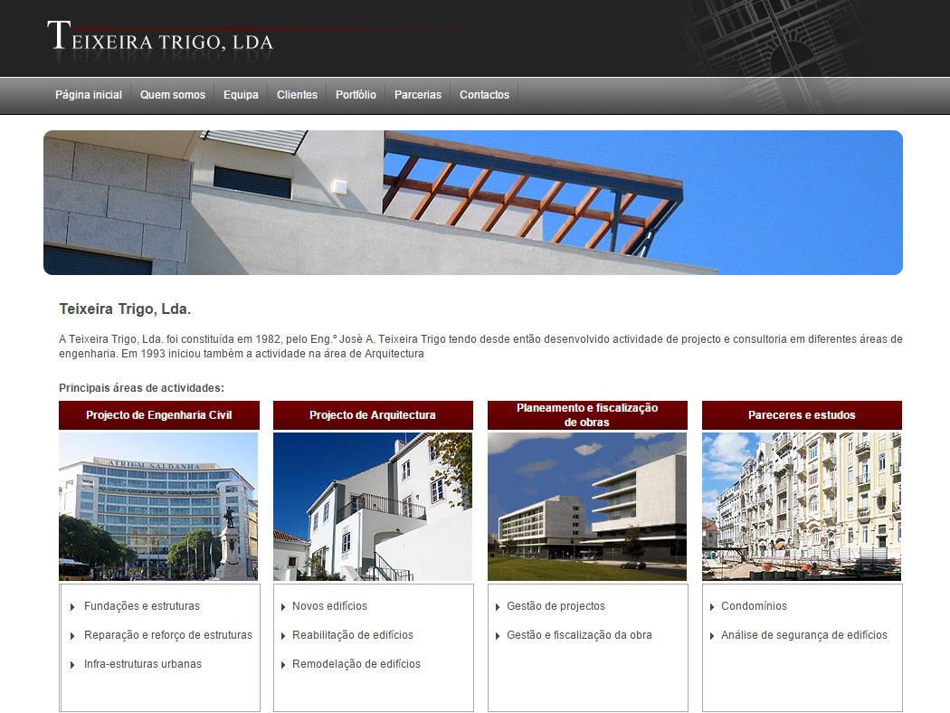 Teixeira Trigo, Lda. -  Engineering office for construction and civil engineering projects