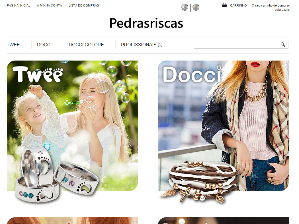 Twee - Online Store for Portuguese Jewels