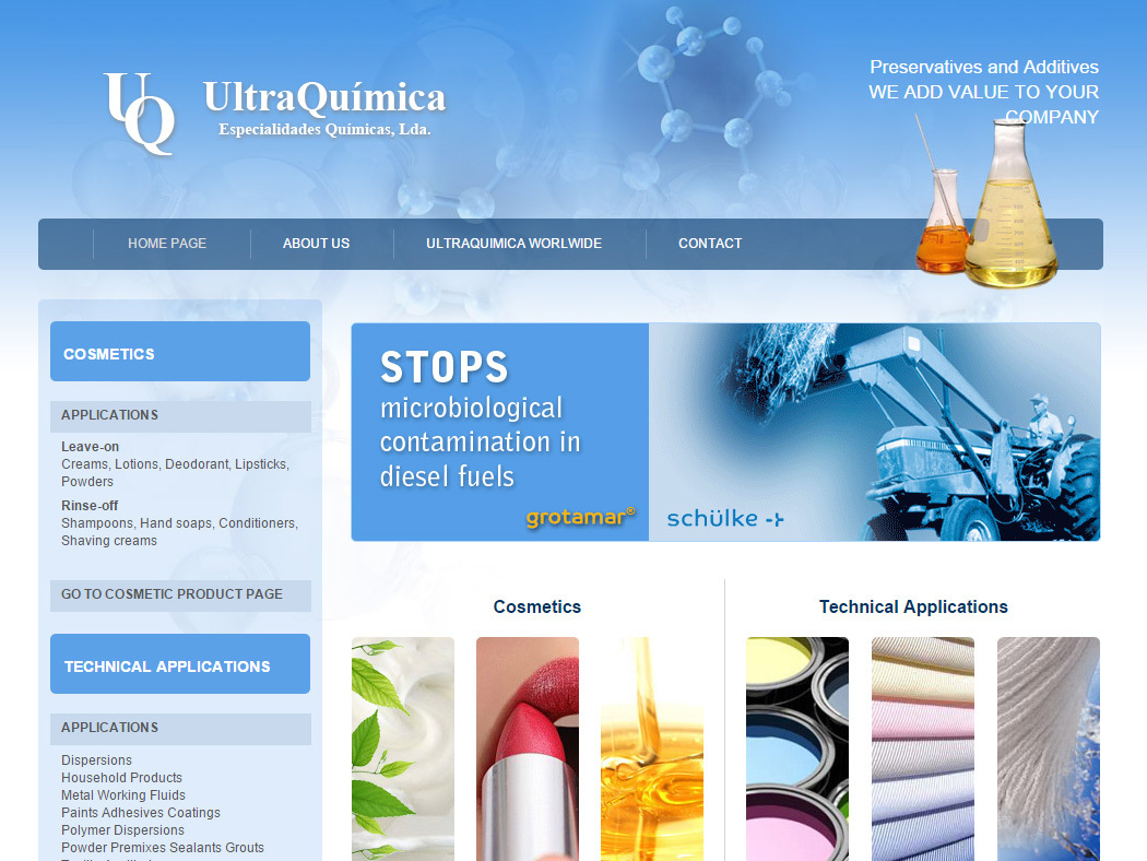 Ultraquímica - Chemical Products