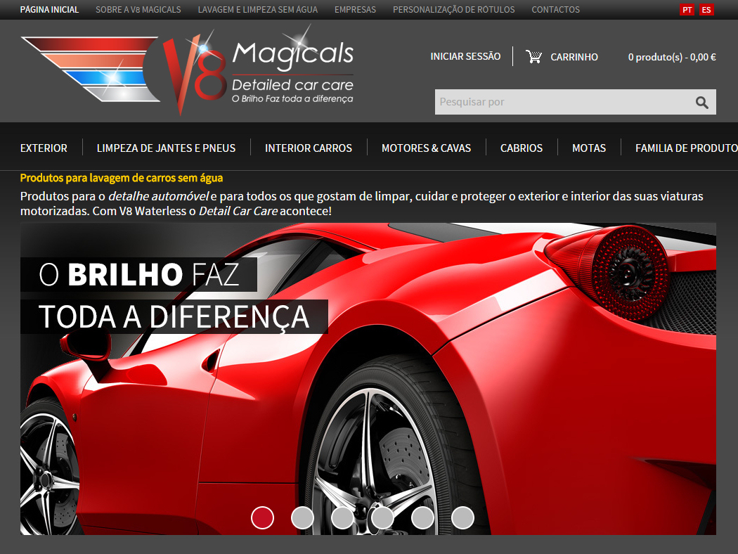 V8 Magicals - Online Store for Car Wash Products  without Water
