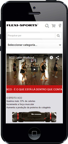 epages Mobile View FlexiSports