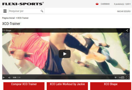 flexi sports epages online shop with responsive desgin