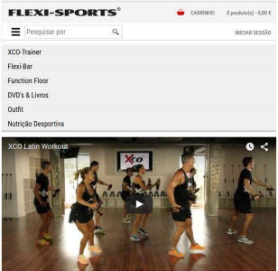 flexi sports epages online shop com design  responsive